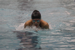 Swim team places third at KVL meet