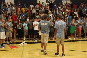 Orientation helps largest freshman class adjust