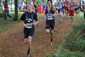 Cross country places first and fifth at Rim Rock meet