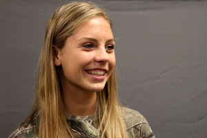 Q&A with sophomore Brooke Houghton