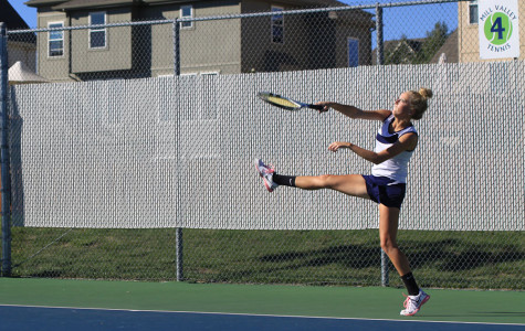 Girls tennis team wins tri