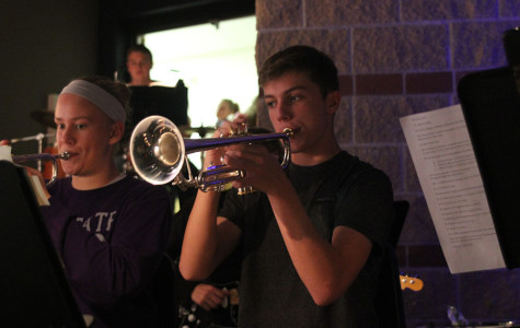 Band participates in fall musical