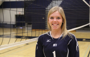 Senior volleyball player experiences her second concussion