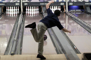 Bowling team finishes first against Topeka schools