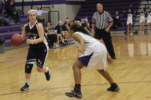 Girls basketball team loses to Piper High School