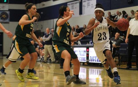 Photo Gallery: Girls Basketball vs. Basehor: Jan. 14