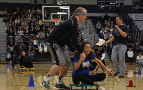 Photo Gallery: Winter Homecoming pep assembly: Jan. 17