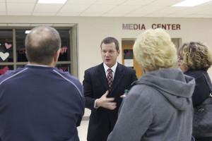 District patrons discuss boundary proposals at public forums