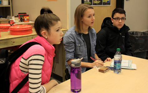 StuCo members brainstorm ideas for this year's Winter Homecoming dance at a meeting on Thursday, Jan. 9.
