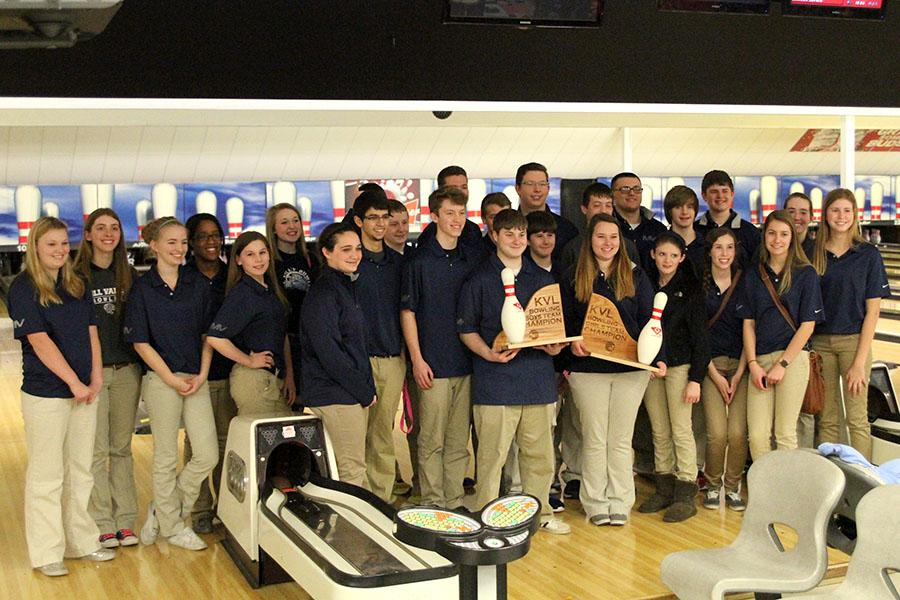 The+boys+and+girls+bowling+team+placed+first+at+the+KVL+league+meet+on+Monday%2C+Feb.+17+at+Ranch+Bowl.