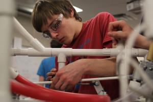 Robotics team travels to Regionals in Arkansas