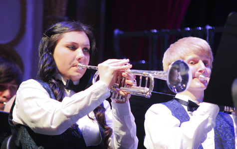 Band plays with ESU