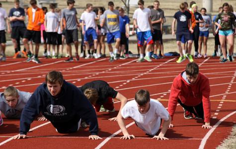 Photo Gallery: Track team prepares for season: March 28