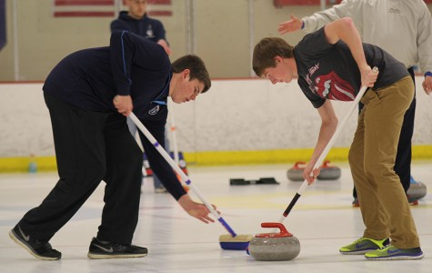 Freshmen form curling team