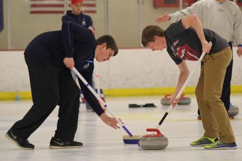 Freshmen form curling team