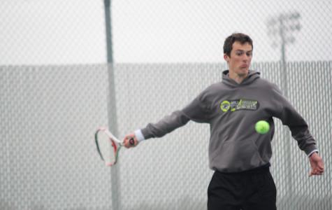 Varsity tennis team places sixth at first meet