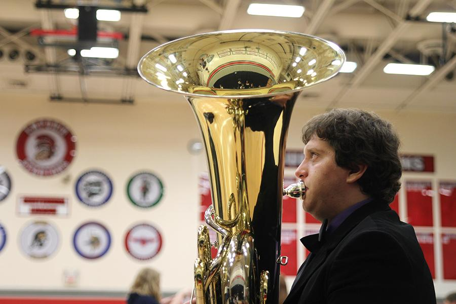 Band+and+choir+members+travel+to+Emporia+High+School+on+Saturday%2C+April+26+to+compete+in+the+solo+and+ensemble+state+competition.