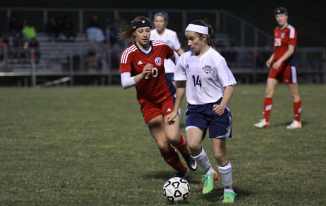 Girls soccer team defeated by Olathe North