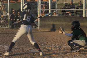 Softball team falls to Basehor-Linwood
