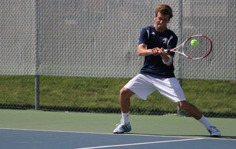 Photo Gallery: Boys tennis dual vs. Lawrence: May 7