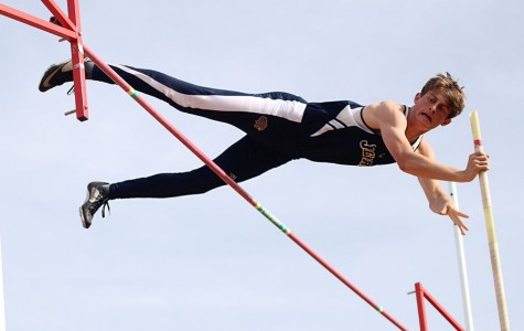 The girls and boys track and field team competed at Shawnee Mission West on Friday, April 25.