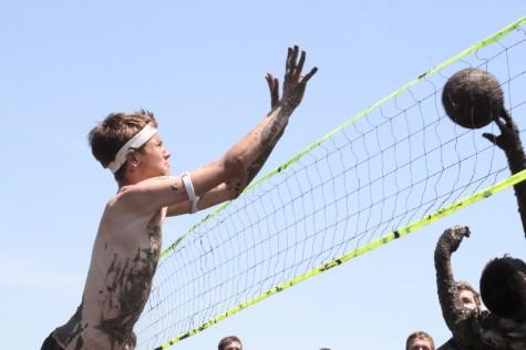 Mayhem Week ends with mud volleyball