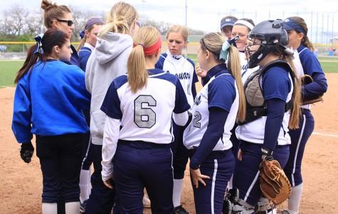 Softball team sweeps Turner