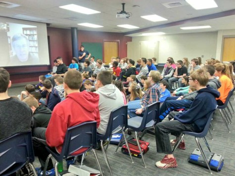 Middle school students lobby for state rock