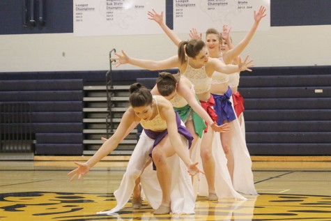 Silver Stars perform multiple dances during showcase