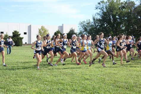 Cross Country team takes first and sixth at Lone Elm Invitational