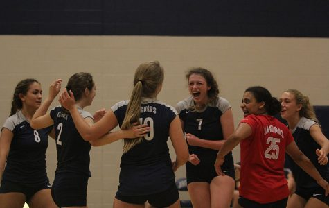 Volleyball loses to Blue Valley Southwest and Bishop Miege at home