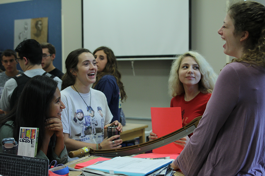 StuCo recently had a meeting on  Thursday, Sept.  1. According to senior Emma Wilhoit, the main focus of the meeting was to continue plans for homecoming.