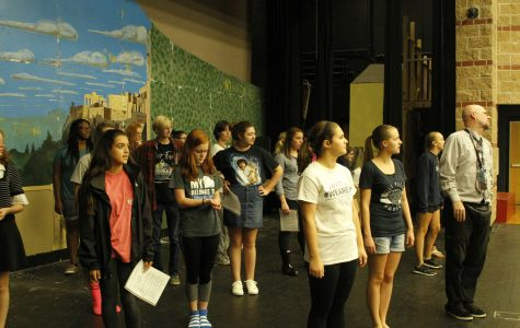 Drama department begins practice on musical