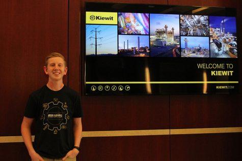 Selective engineering internship allows junior Landon Butler to develop his career skills