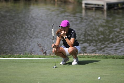Girls golf places sixth at Lawrence Country Club