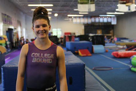 Dedication to gymnastics creates opportunities for junior Haley Minor