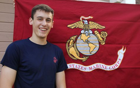 Senior Bryce Dean chooses career path of becoming a Marine