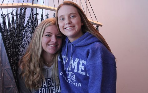Juniors Delaney Spoonemore and Payton Shurley grow closer together as stepsisters