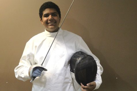 Ambitious freshman fencer Jadon Taylor aims to reach his full potential