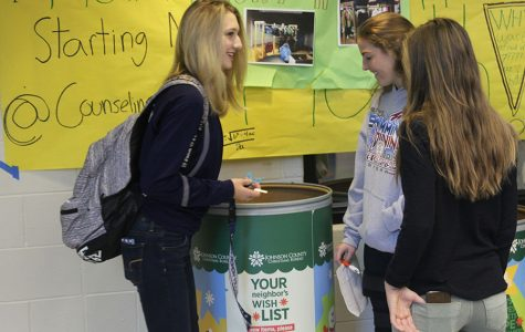 NHS hosts jean and coat drive to benefit Johnson County Christmas Bureau