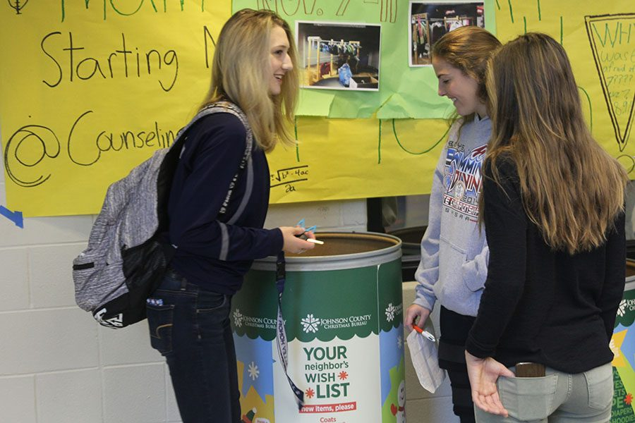 NHS hosts jean and coat drive to benefit Johnson County Christmas ...