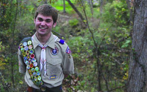 Senior Eric Tibbetts makes an impact through Boy Scouts