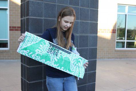 Junior Marissa Olin finds passion in knitting