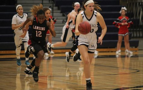 Girls basketball defeats Lansing at home