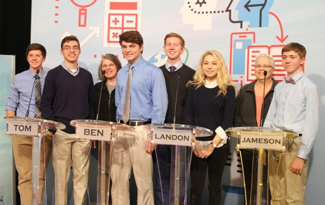 Quiz Bowl team competes in televised Quest tournament