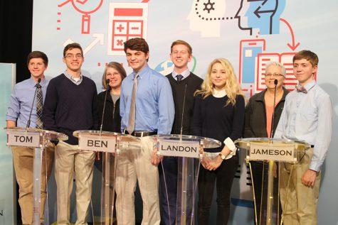 Quiz Bowl team competes in televised Quest tournament