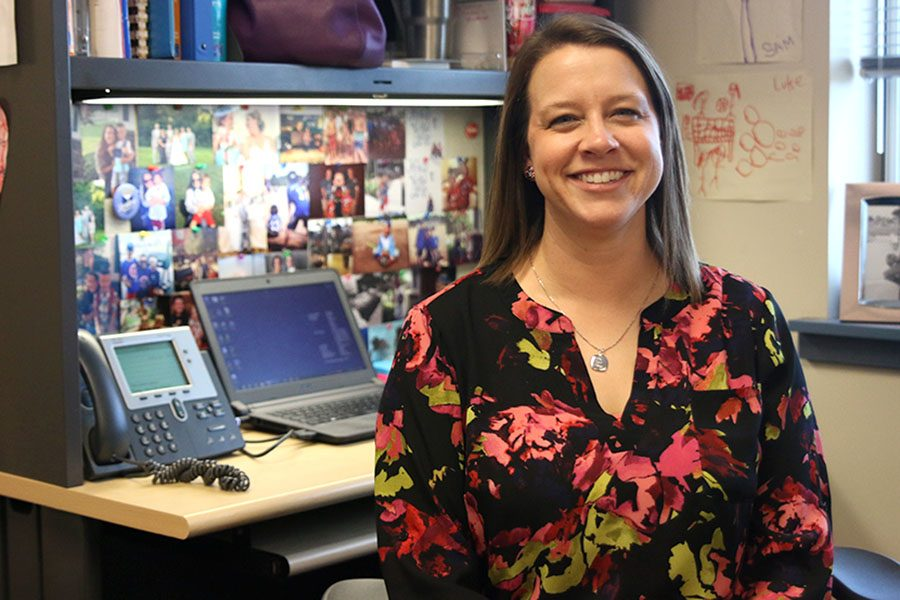 With diagnosis of young family friends, English teacher Ashley Agre dedicates time to Relay for Life and the Make-A-Wish club.