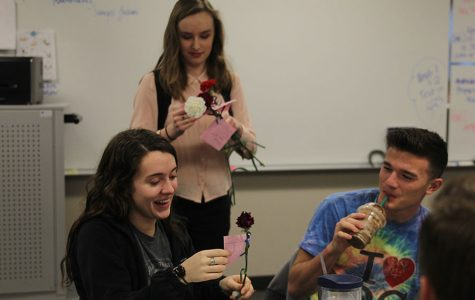 NEHS holds Valentine's Day carnation sale