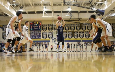 Boys basketball team falls to St. Thomas Aquinas