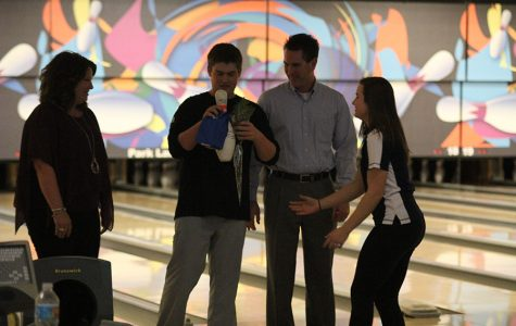 Bowling team holds annual senior night